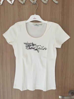 Schönes T-Shirt von der Marke Tom Tailor Casual, Größe XS, schöner Aufdruck