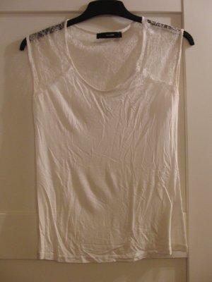 Hallhuber Camiseta blanco-blanco puro