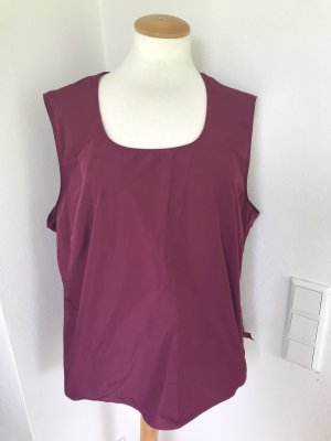 Bexleys Sleeveless Blouse purple polyester