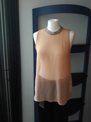 Schönes Top Bluse Shirt Only Gr. 38/M 36/S NEU T-Shirt Büro leicht transparent