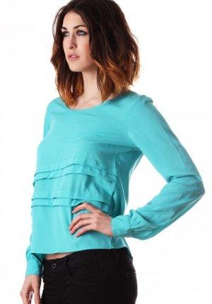 Schönes Top Bluse Vero Moda Gr. XS/34/36/S NEU T-Shirt Büro Sommer leicht Crop