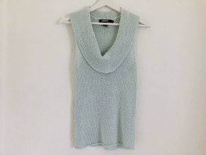 DKNY Top en maille crochet bleu clair