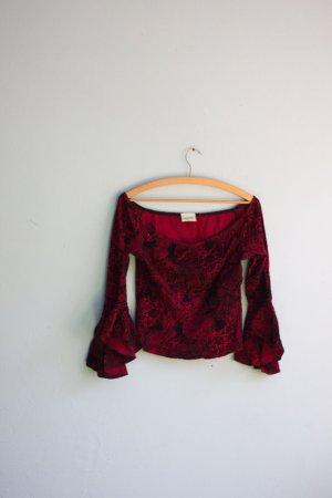 Schönes Top von Pimkie Paisley Muster rot