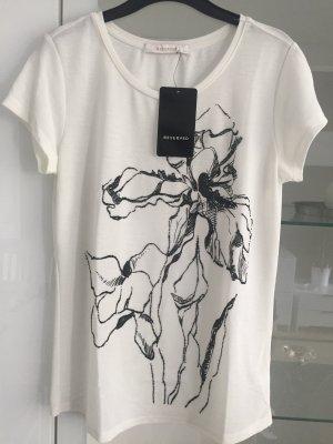 Reserved T-shirt bianco-nero