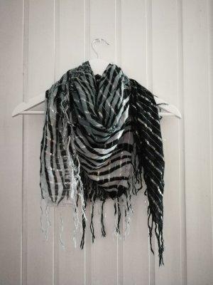 Forever 21 Sjaal met franjes veelkleurig