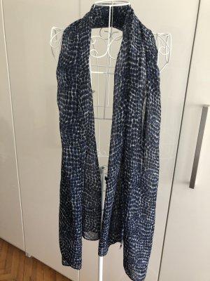 Schönes Tuch - Orsay - Blaugemustert