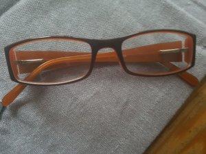Bril bruin-oranje