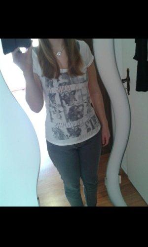 Schönes weißes T-Shirt mit Aufdruck :)
