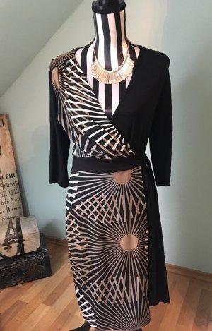 Anna Field Robe portefeuille noir-brun