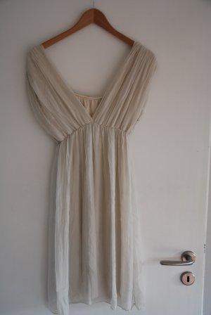 Schönes zartes Kleid in offwhite, Boho Look
