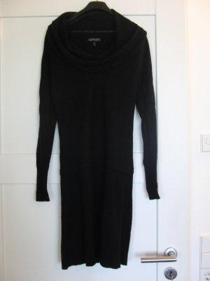 Schönes, zeitloses, elegantes Strickkleid von APART, Gr. 34-36, schwarz
