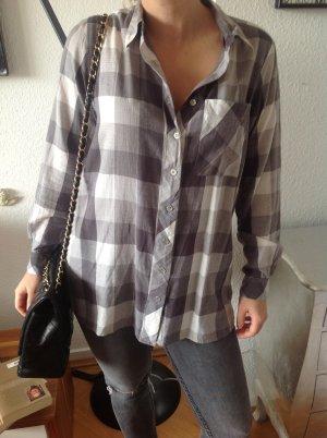 schönste karierte MODSTRÖM Bluse Hemd oversize Gr.S Karohemd nova check Blogger