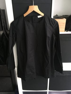 Schößchen-Bluse schwarz Gr. 36 Road Collection