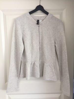 H&M Divided Shirt Jacket light grey