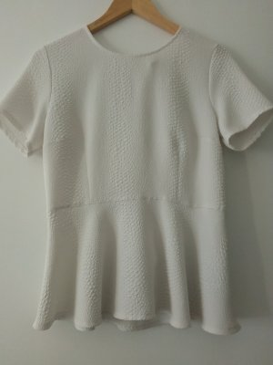 Woman Collection H&M Peplum top wit