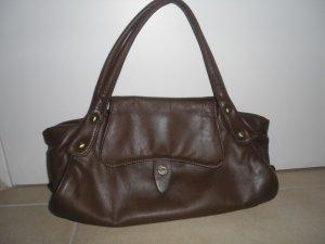 Schokobraune Handtasche Henkeltasche von Borella