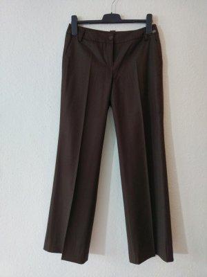 esprit collection Low-Rise Trousers brown mixture fibre