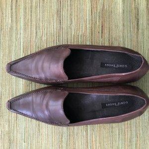 Görtz Shoes Pantoffels bruin-donkerbruin