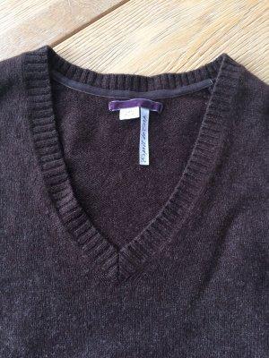Schokobrauner Merino - Pullover von Esprit