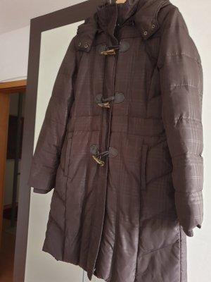 Street One Gewatteerde jas donkerbruin