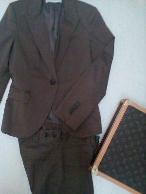 Zara Tailleur-pantalon bronze-brun foncé