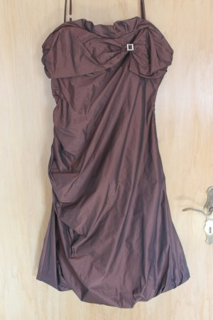 Vera Mont Robe de soirée brun noir polyester