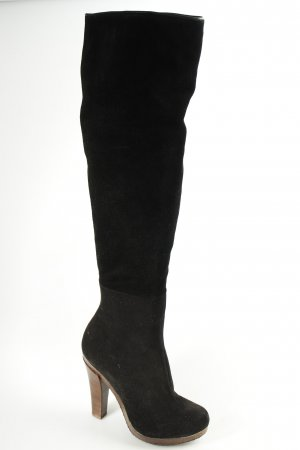 Scholl Absatz Stiefel schwarz schlichter Stil