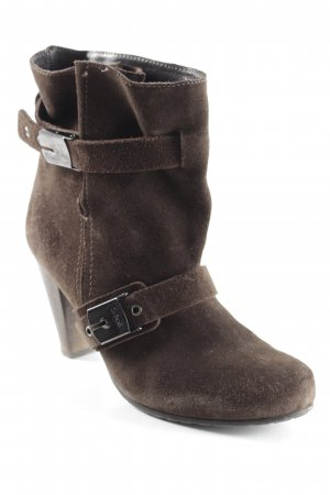 Scholl Booties dunkelbraun Casual-Look
