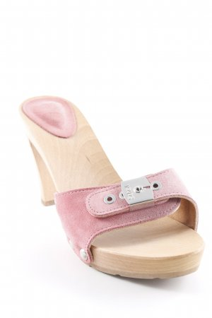 Scholl High Heel Sandaletten rosa Casual-Look