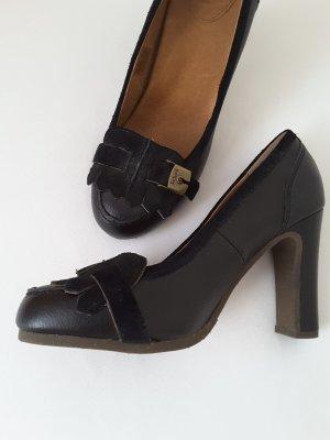 Scholl High Heels, schwarz, Grösse 37