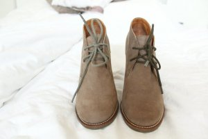 Scholl Issenia Schuhe Schnüren 37 grau braun
