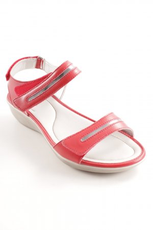 Scholl Comfort Sandals red-silver-colored casual look