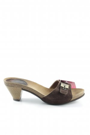 Scholl Sandalo outdoor marrone scuro-marrone chiaro stile casual