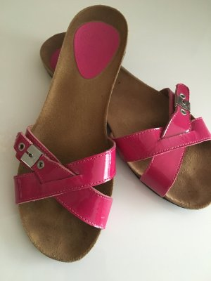 Scholl Pantoletten, Größe 39 in Pink