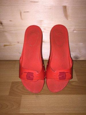 Scholl Sandalen Gr. 39 rot