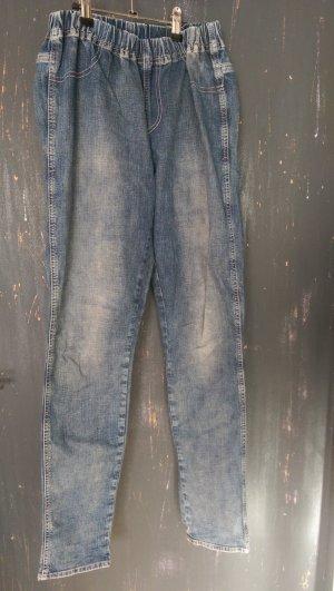 Schone Jeggins in verwaschenem Jeans-Look