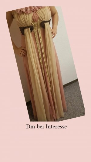 100 Evening Dress pink-gold-colored