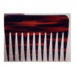 Hair Clip bordeaux-brown red