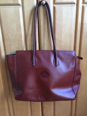 Henry Cotton's Shopper cognac-coloured