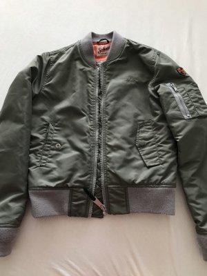 Schott NYC Bomber Jacket khaki