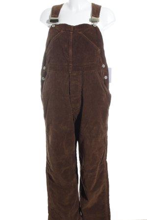 Schott NYC Peto marrón estilo extravagante