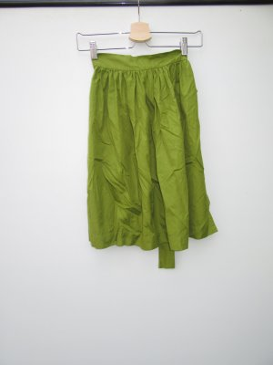 Schürze Dirndl grün Vintage Retro Tracht