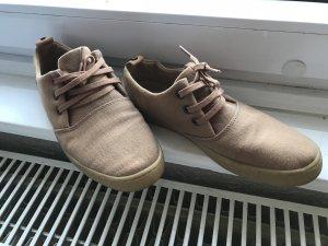Heel Sneakers light brown