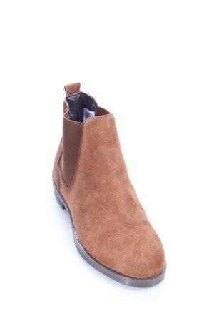 """""""Schuh"""" Chelsea Boots cognac klassischer Stil"""