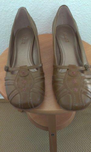 Schuh im Vintage look