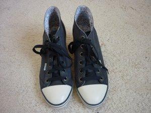 Schuh mit Keilabsatz von Esprit, Größe 41, blau
