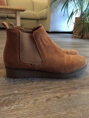 Schuh Wildleder Braun