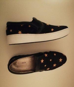 Slip-on Sneakers black-yellow