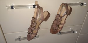 Paul Green Strapped High-Heeled Sandals nude