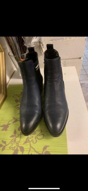 Tommy Hilfiger Chelsea laarzen donkerblauw
